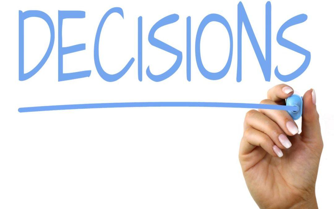 Decisions, Decisions? Proverbs 3:5-6