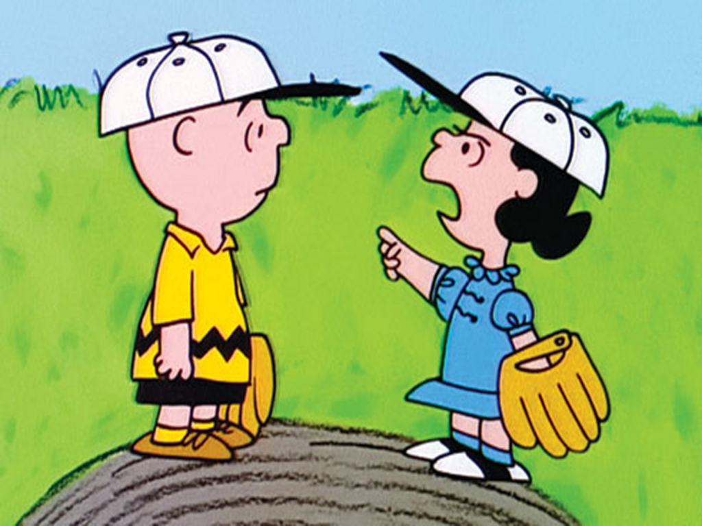 Charlie Brown Luicy baseball