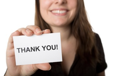 Today – Tell Someone THANK YOU!