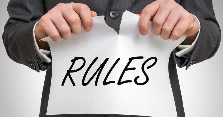 When is it okay to break the rules?