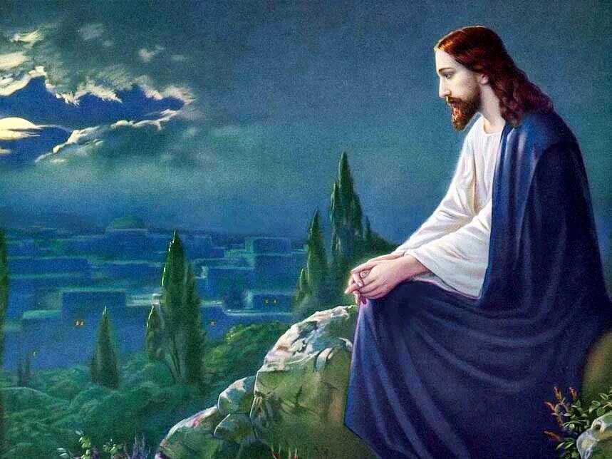 Jesus Teaches a Lesson on Prayer