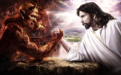 Jesus teaches the truth about Satan