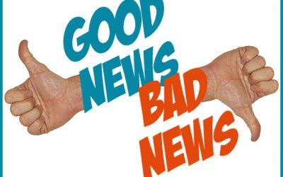 Good News and Bad News