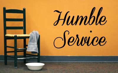 Be a Humble Servant